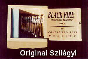 Szilágyi Black Fire Chromatic Set